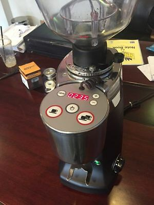 As New/Demo Mazzer Kony Electronic Commercial Espresso Coffee Grinder