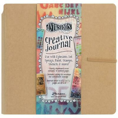 Dylusions Creative Art Journal - Square 8x8 - Mixed Media Cardstock