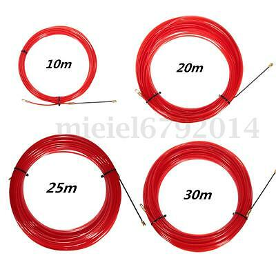 10-30M Nylon Fish Draw Tape Electrical Cable Puller Pulling Electrician Tool UK