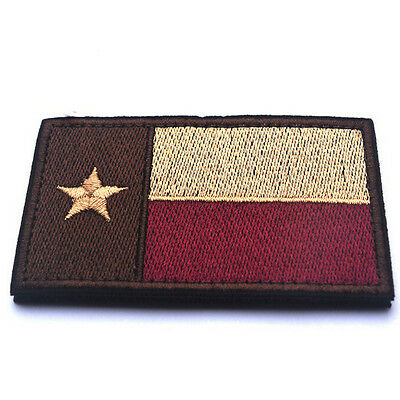 USA Texas TX STATE FLAG U.S. ARMY MILITARY MORALE TACTICAL PATCH