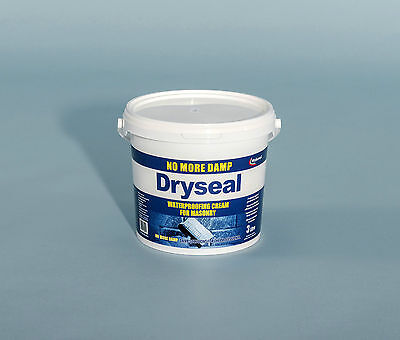 DRYSEAL Waterproofing cream for masonry protection 3ltr