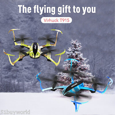 JJRC 2.4G 6 Axis Gyro Quadcopter Drone Real Time HD 2MP Camera FPV RC Helicopter
