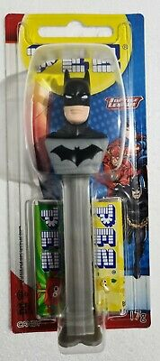 PEZ Candy Dispenser - DC Comics Justice League BATMAN - 17g Candy BNIP