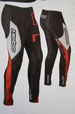 2016 Hebo Tech Trials Pants/Trousers (Red)