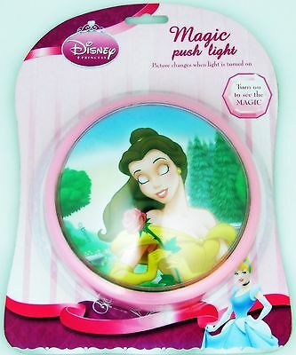 Disney Princess Belle Magic Push Night Light
