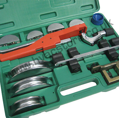 Soft Copper Tube Bender Kit - Ratchet Style