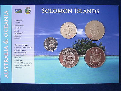 Mds Salomonen / Solomon Islands Kms Im Folder