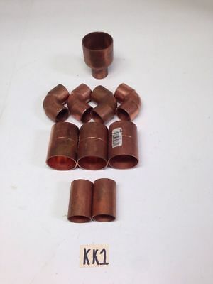 Nibco Copper Pipe Fittings Elbows, Reducer, *Fast Shipping*