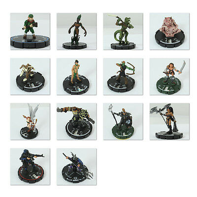 Mage Knight Figurenkonvolut 17 Stk Tabletop Limited Edition wie neu 8.8 1366 DL1