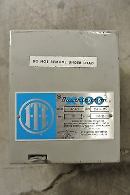 ITE 30 Amp 250 Volt 3 Phase 4 Wire Cat: XP421 bustribution X100