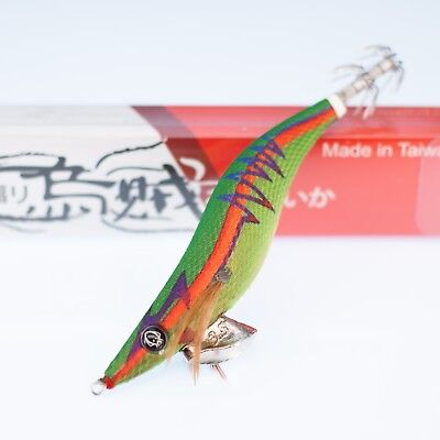 Rui Squid Jig Gs11 Size 3.5 Red Belly