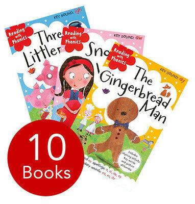 Reading with Phonics Collection - 10 Books