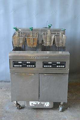 Used Frymaster Electric High Volume-Fast Recovery Fryers 2 well, Free Shipping!