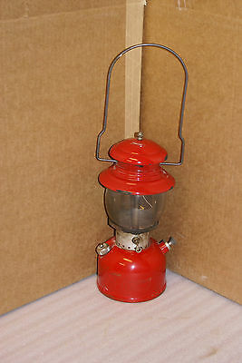Vintage Red Coleman Lantern Model 200 Dated 6 1961
