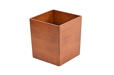 Wooden waste baskets. maple NEW! TE-823