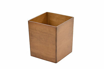 Wooden waste baskets. maple NEW! CQ-2-34