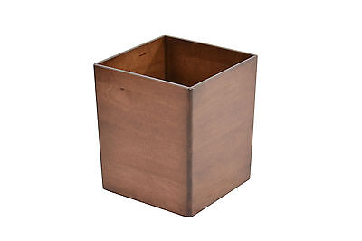 Wooden waste baskets. maple NEW! CQ-2-75