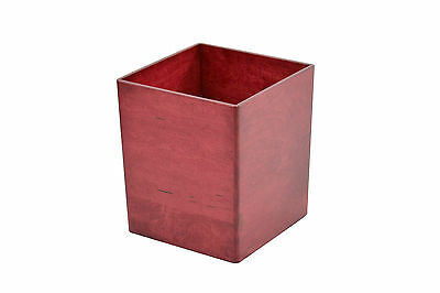 Wooden waste baskets. maple NEW! TE-1366