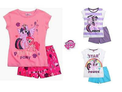 New official cotton Girl My little Pony short sleeve pyjamas set nightwear sleep
