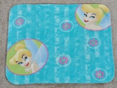 Fleece Standard (Twin) Pillow Cover- Disney's Tinkerbell Prints - 2 Choices