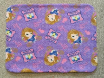 Fleece Standard (Twin) Pillow Cover - Disney-Sofia-Princess In Training