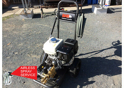 Bar High Pressure Cleaner 4000Psi 13Hp Petrol Direct Drive Honda Motor *genuine*