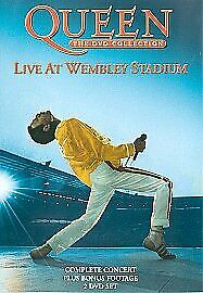 QUEEN LIVE MUSIC CONCERT AT WEMBLEY STADIUM 1986 DVD Collection Brand New UK