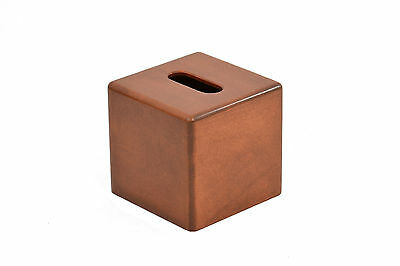 """Wooden tissue box """"cube"""" cover. Maple. NEW! TE-823"""