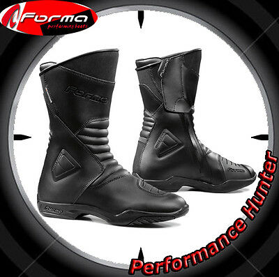 Bottes Chaussures Moto Forma Waterproof Touring Majestic Black Tg: 43