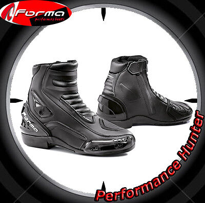 Bottes Chaussures Moto Forma Racing Axel Black Tg: 46