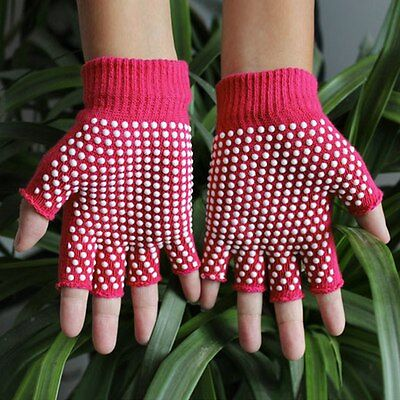 New Sports Golves Fingerless Non-Slip Bike Cycling Workout Gloves With Grip