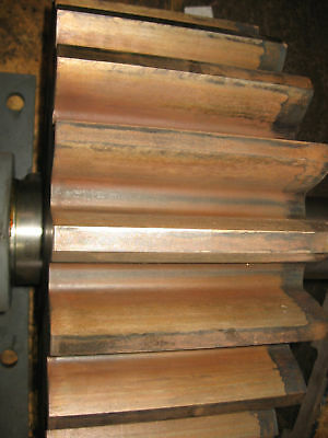 Large Coarse Tooth Spur Gear ~1000 Pounds 23 Teeth