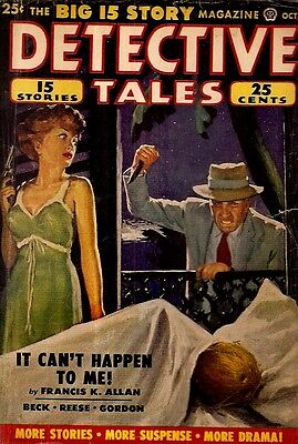DETECTIVE TALES. October, 1950. Vol. 46, No. 3.