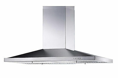 "NEW Stainless Steel 36"" Kitchen Island Range Hoods Vent Fan 3 Speed Push Button"