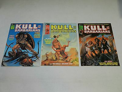 Kull And The Barbarians #1, 2, 3