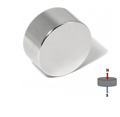 4X Strong 20mm x 10mm N45 Disc Magnets   Neodymium Rare Earth Disk Model Craft