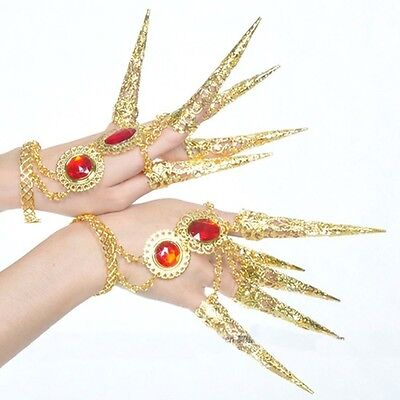 New Bangles Rings Coin Bracelets Belly Dance Dancing Bollywood Hand Accessories