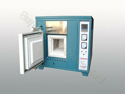 1800℃ Box Muffle Chamber Electric Heating Oven New Benchtop Digital Lab Furnace