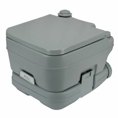 NEW Portable Compact Camping Toilet Marine Chemical Toilet 13 Litre