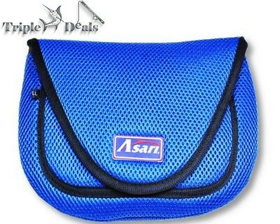 New Asari Spinning Fishing Reel Cover - Fishing Reel Bag with Front Pocket