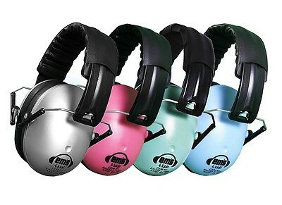 Kids Earmuffs Light Weight Lots of Colours - Hearing Protection for Little ears