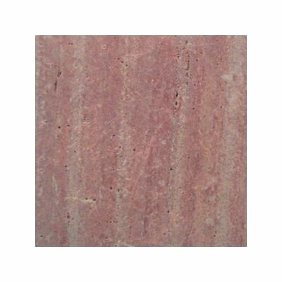 Rosso Vein Cut Tumbled Paver Travertine Tile Flooring Pool Coping 400x400x30