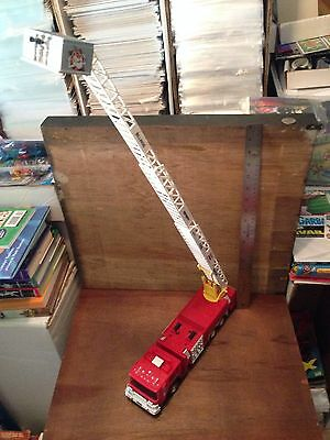 Exxon Fire-Rescue 100 Ft Boom w/Bucket Truck 1998 Billings Refinery Numbered