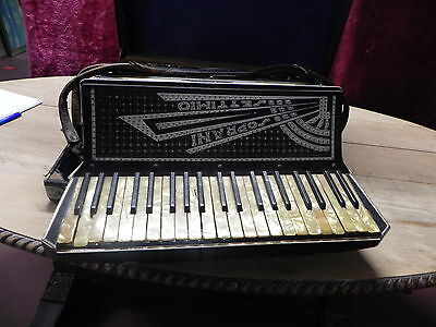 Vintage Piano Accordion Soprani Settimio Cardinal