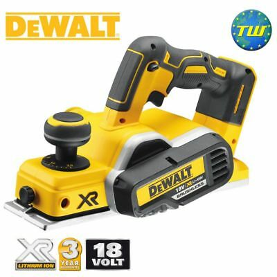 DeWalt DCP580N 18V BRUSHLESS 82mm Planer XR Li-ion Body Only Bare Unit