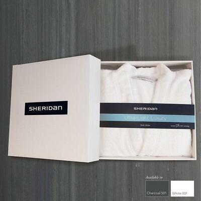 Sheridan UltraLight Luxury Bath Robe Gift Box
