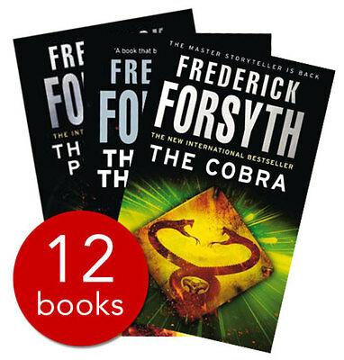 Frederick Forsyth Collection - 12 Books