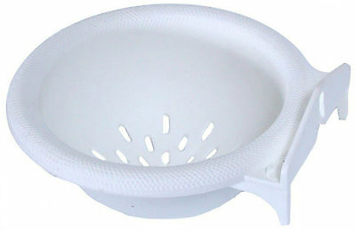 Hatchwells Canary Nest Pan, White