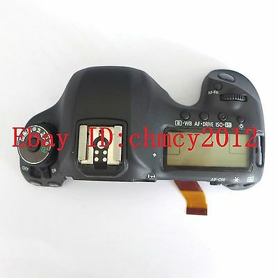 LCD Top cover / head Flash Shell for Canon EOS 5D Mark III / 5D3 Digital Camera