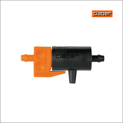 50 x Claber adjustable In-Line Drippers 0-6 L/H  91217/99217 Hozelock compatible